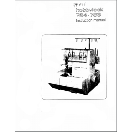 Instruction Manual, Pfaff Hobbylock 784 : Sewing Parts Online