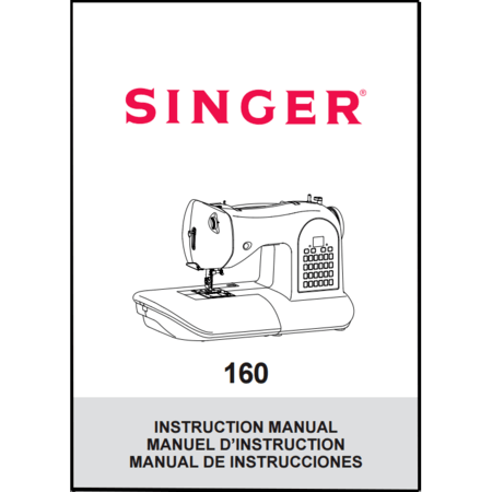 Instruction Manual, Singer 160 : Sewing Parts Online
