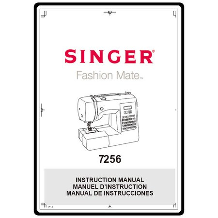 Instruction Manual, Singer 7256 : Sewing Parts Online