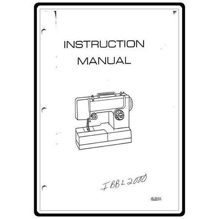 Instruction Manual, Simplicity SL1000 : Sewing Parts Online