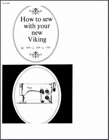 Instruction Manual, Viking 3310 : Sewing Parts Online