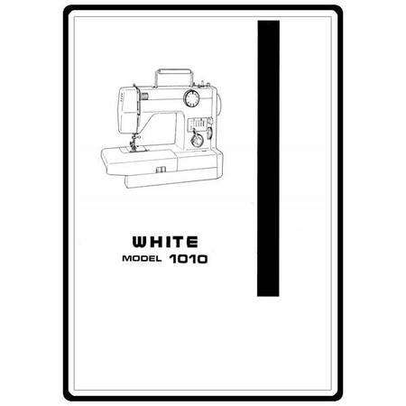 Instruction Manual, White 1010 : Sewing Parts Online