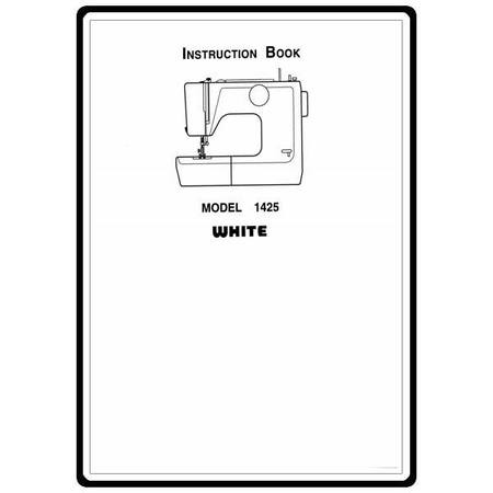 Instruction Manual, White 1425 : Sewing Parts Online