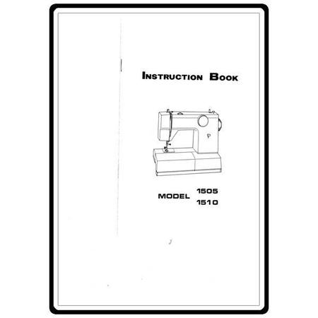 Instruction Manual, White 1505 : Sewing Parts Online