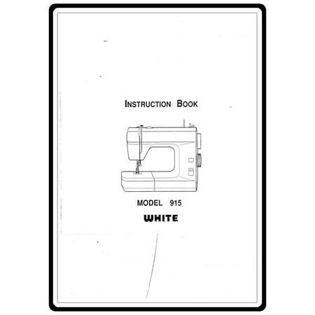 Instruction Manual, White 915 : Sewing Parts Online