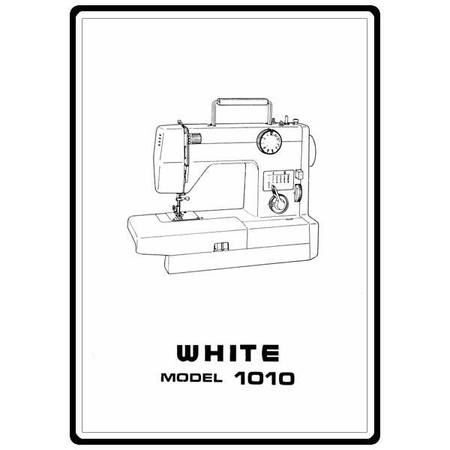 Instruction Manual, White 999 : Sewing Parts Online