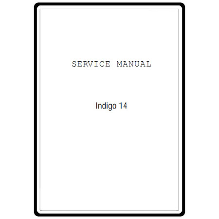 Service Manual, Janome Indigo 2014 : Sewing Parts Online