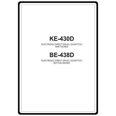 Instruction Manual, Brother KE-430D : Sewing Parts Online