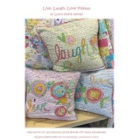 Live, Laugh, Love Pillows Pattern : Sewing Parts Online