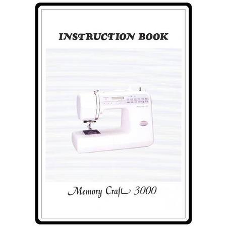 Instruction Manual, Janome MC3000 : Sewing Parts Online