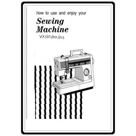Instruction Manual, Brother VX-880 : Sewing Parts Online