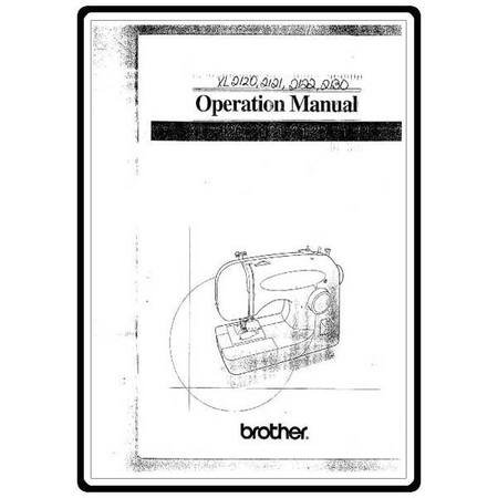 Instruction Manual, Brother XL-2120 : Sewing Parts Online