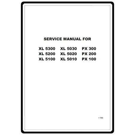 Service Manual, Brother XL5100 : Sewing Parts Online