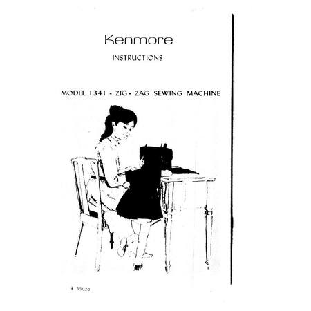 Instruction Manual, Kenmore 158.13412 : Sewing Parts Online