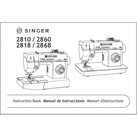 Instruction Manual, Singer 2810 : Sewing Parts Online