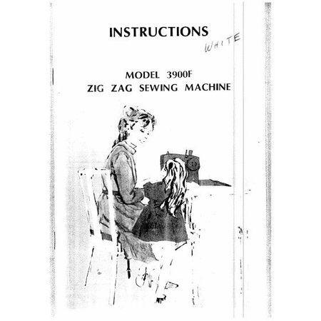 Instruction Manual, White 3900 : Sewing Parts Online