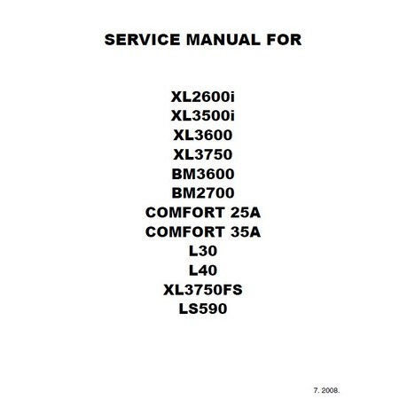 Service Manual, Brother LS590 : Sewing Parts Online