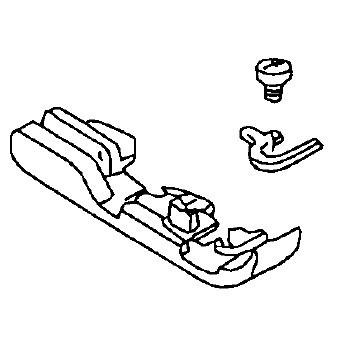 Presser Foot, Juki #A15016130B0A : Sewing Parts Online