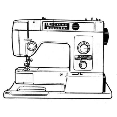 Instruction Manual, White 8000 : Sewing Parts Online