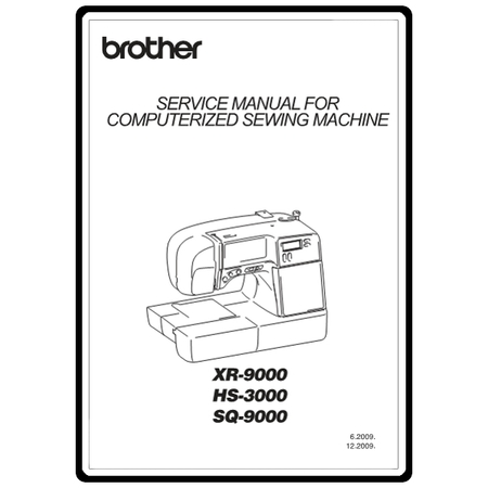 Service Manual, Brother XR9000 : Sewing Parts Online
