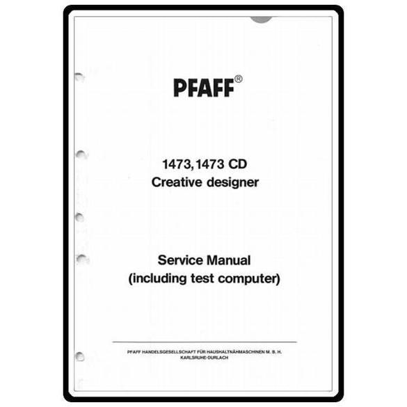 Service Manual, Pfaff 1473CD : Sewing Parts Online