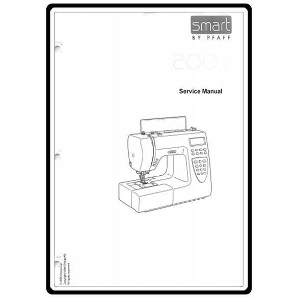 Service Manual, Pfaff 200C : Sewing Parts Online
