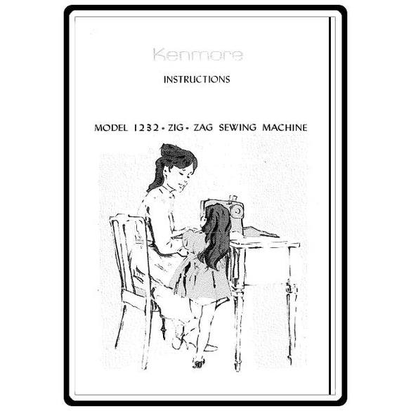 Instruction Manual, Kenmore 385.12320 Models : Sewing