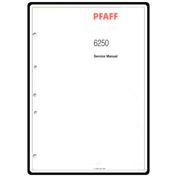 Service Manual, Pfaff 6250 : Sewing Parts Online