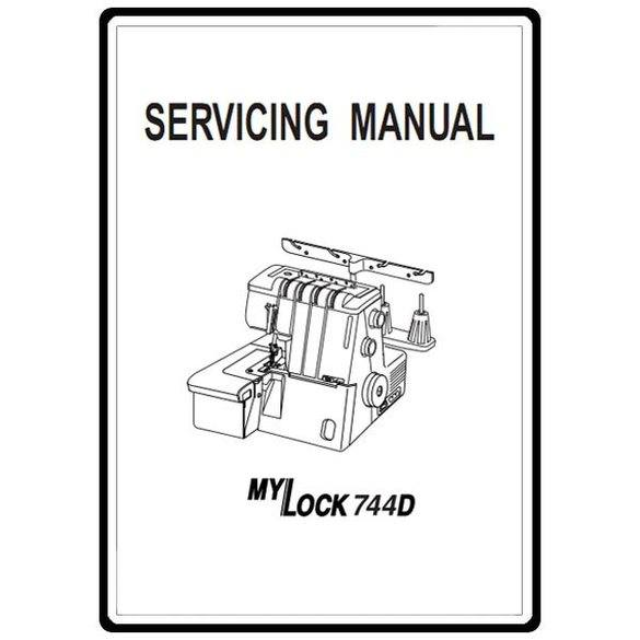 Service Manual, Janome 744D : Sewing Parts Online
