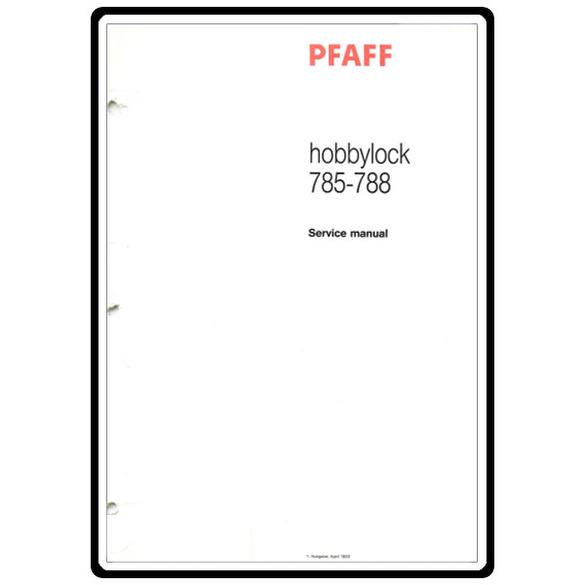 Service Manual, Pfaff 785 : Sewing Parts Online