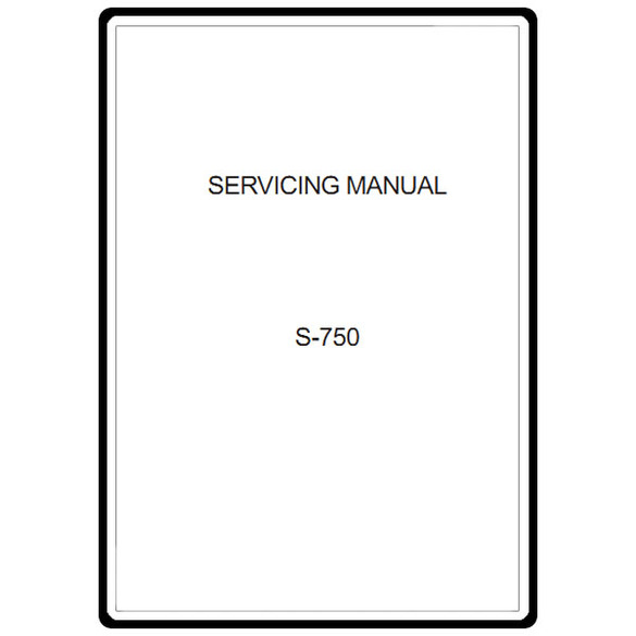 Service Manual, Janome S-750 : Sewing Parts Online