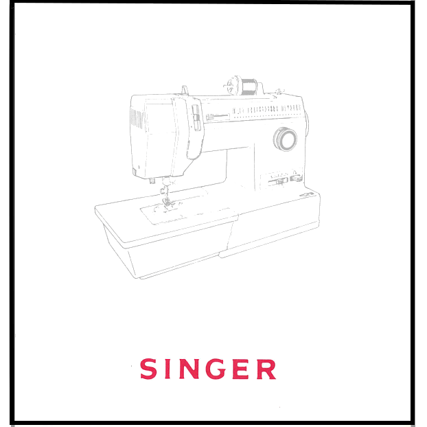 Instruction Manual, Singer 93220 : Sewing Parts Online