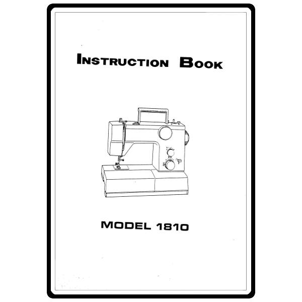 Instruction Manual, White 1475 : Sewing Parts Online