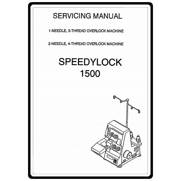Service Manual, White 1500 Speedylock : Sewing Parts Online