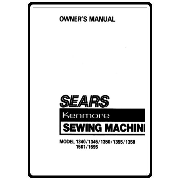 Instruction Manual, Kenmore 158.1345381 : Sewing Parts Online