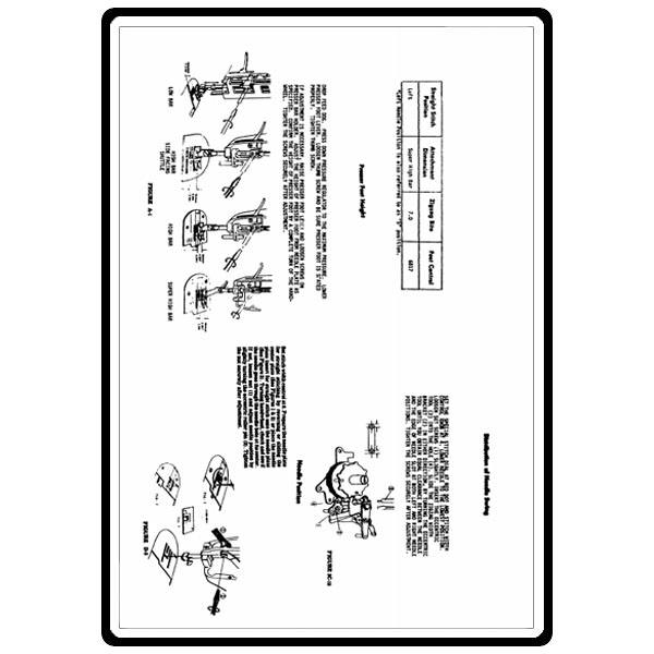 Service Manual, Kenmore 158.19142 : Sewing Parts Online