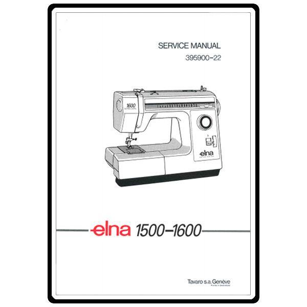 Service Manual, Elna 1600 : Sewing Parts Online