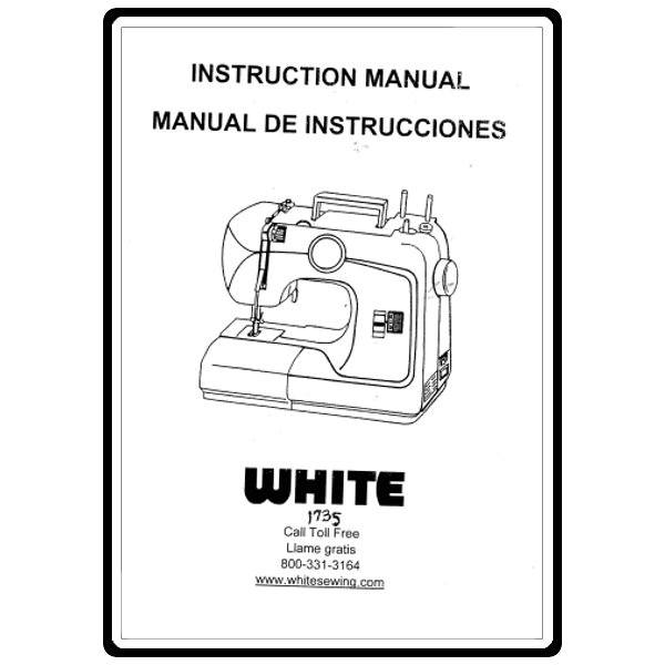 Instruction Manual, White 1735 : Sewing Parts Online