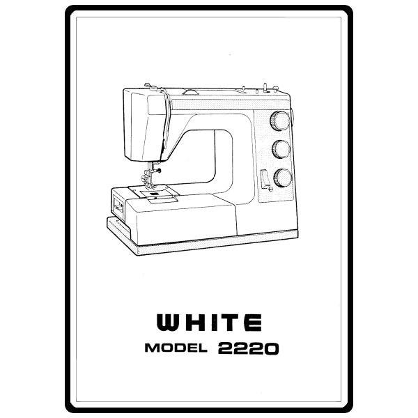 Instruction Manual, White 2220 : Sewing Parts Online