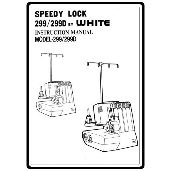 Instruction Manual, White 299D : Sewing Parts Online