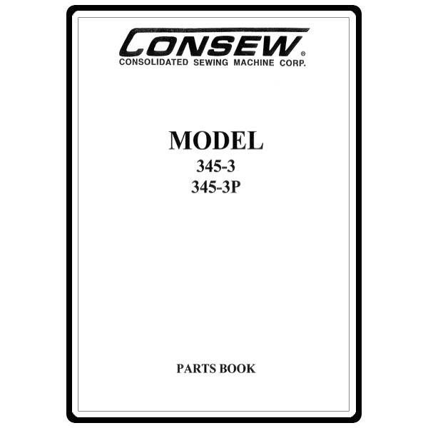 Instruction Manual, Consew 345-3 : Sewing Parts Online