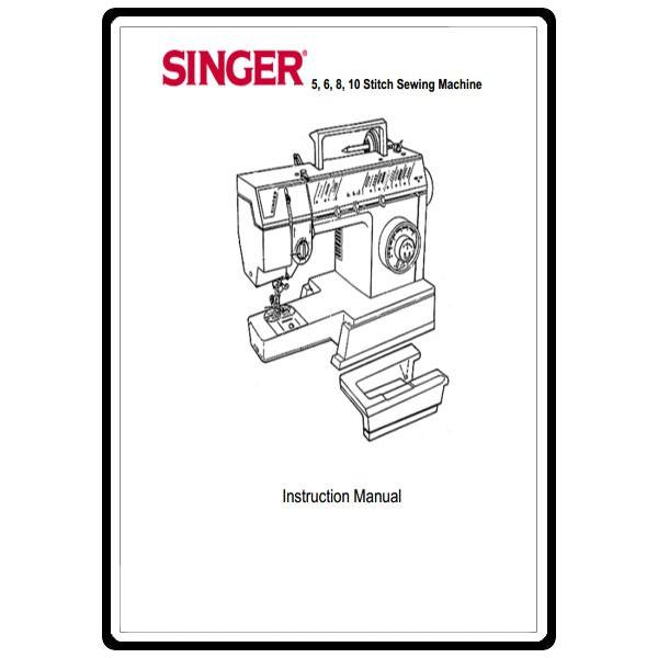 Instruction Manual, Singer 4525 : Sewing Parts Online
