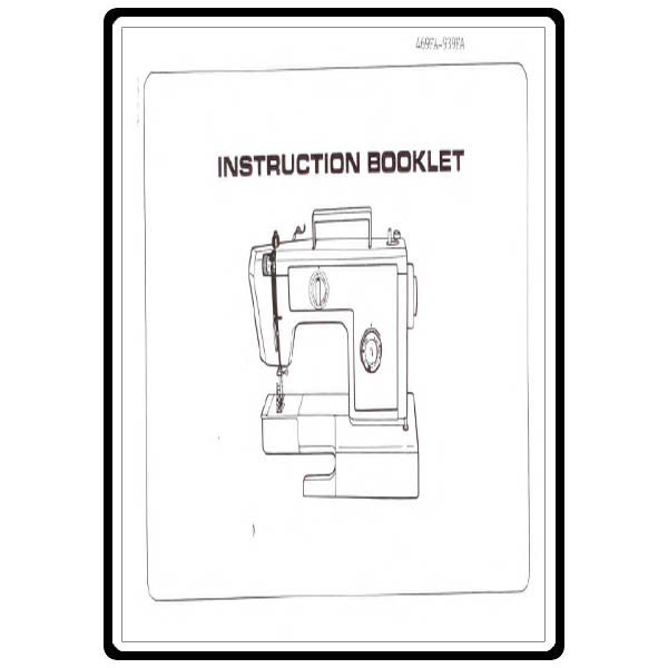 Instruction Manual, Riccar 939FA : Sewing Parts Online