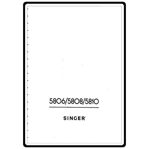 Instruction Manual, Singer 8220 : Sewing Parts Online