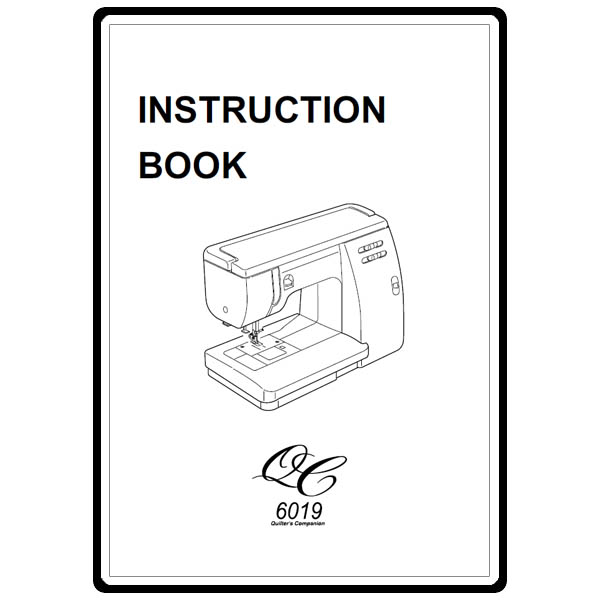 Instruction Manual, Janome 6019QC : Sewing Parts Online
