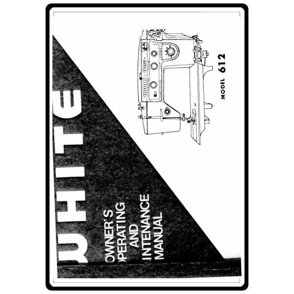 Instruction Manual, White 612 : Sewing Parts Online