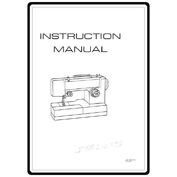 Instruction Manual, Riccar 709 : Sewing Parts Online