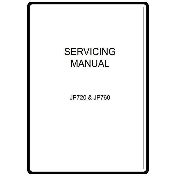 Service Manual, Janome JP760 Jem Platinum : Sewing Parts