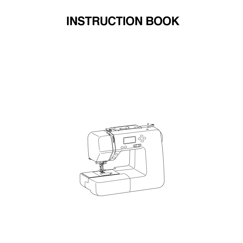 Instruction Manual, Janome DC1050 : Sewing Parts Online