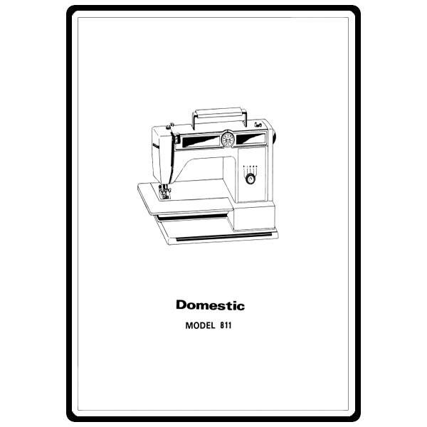 Instruction Manual, White 811 : Sewing Parts Online